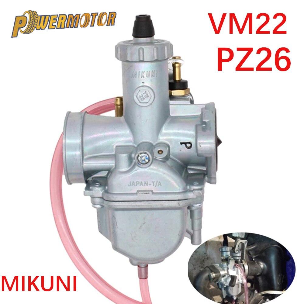Mikuni VM22 PZ26 26 мм карбюратор производительность карбюратор для 110cc 125cc 140cc Pit Dirt Bike XR50 CRF70 аксессуары для карбюраторов