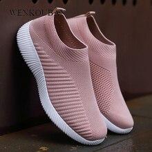 Flat Shoes Women Sock Sneakers Fashion L