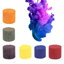 6 Color 1Pc Smoke Cake Colorful Smoke Effect Show Round Bomb Stage Photography Aid Toy Gifts T&E(China)