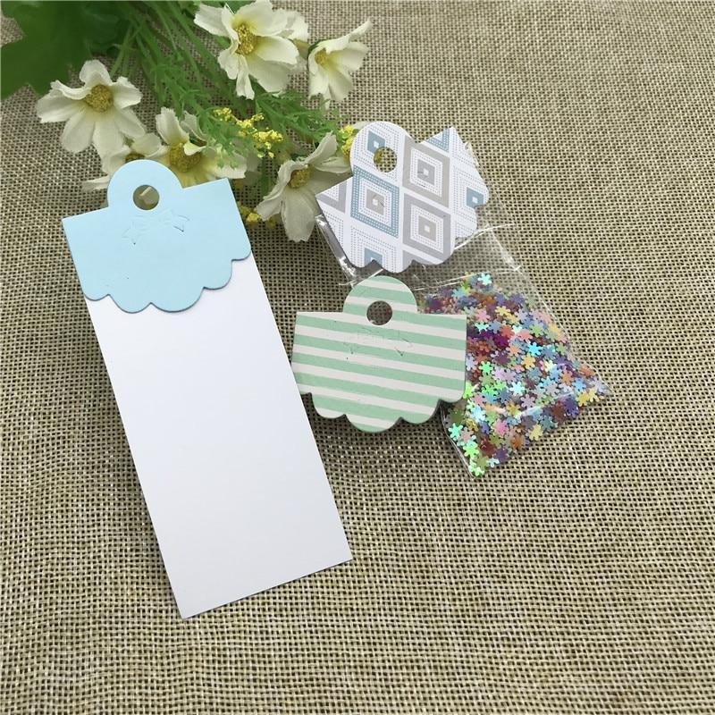 Gift Card Box Pack Bag Topper Head Handle Metal Cutting Dies Craft Stamps Die Cut Embossing Card Make Stencil Frame Art Cutte