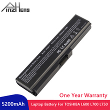 PINZHENG Laptop Battery For Toshiba L600 L700 L750 L730 PA3818 PA3817U PABAS215 For Equium U400-124 Portege M800-101 Series цена 2017