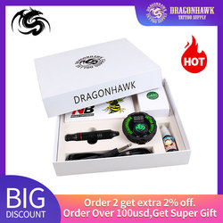 Professionele Tattoo Kit Set Rotary Tattoo Machine Pen Power Inkt Sets Naalden Accessoires