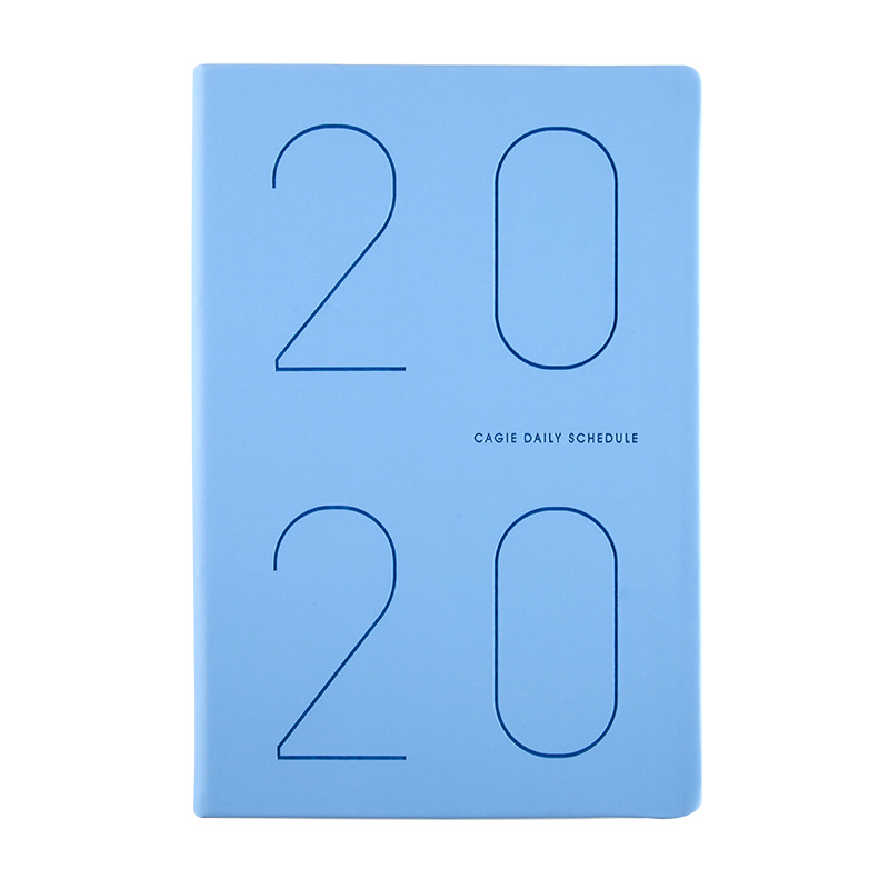 Agenda 2020 Planner Organizer Diary A5 Notebook and Journal Weekly Monthly Note Book Travel Notepad School Business Handbook