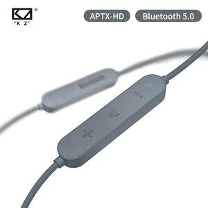 Image 2 - KZ Aptx HD CSR8675 MMCX Bluetooth Module Earphone 5.0 Wireless Upgrade Cable Applies ASX AS10ZSTZSNProZS10Pro/AS16/ZSX