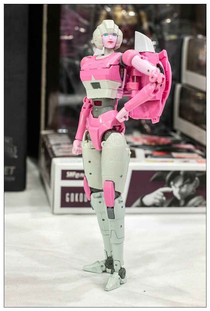Transformasi Mainan Mata Max MMC Ox PS-04 Azalea Arcee MP Action Figure Di Saham
