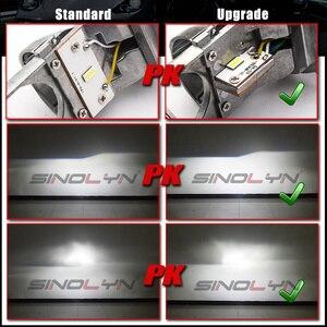 Image 2 - Sinolyn Bi LEDเลนส์H4 9003 MINI LEDไฟหน้าโปรเจคเตอร์เลนส์ปรับ 1.5 60W 5500Kรถยนต์ชุดไฟรถอุปกรณ์เสริมDIY