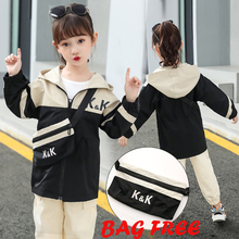 Children's trench coat for girls boys windproof baby clothes spring autumn children's windbreaker kids long coat toddler jacket цена 2017