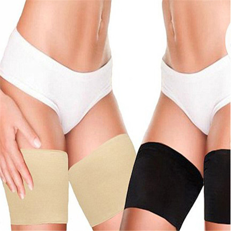 Cleara 1 Pair Lace Anti Chafing Thigh Bandages Chaffing Bandlets Woman Garter Elastic Breathable Thin Section Exacerbating Drops