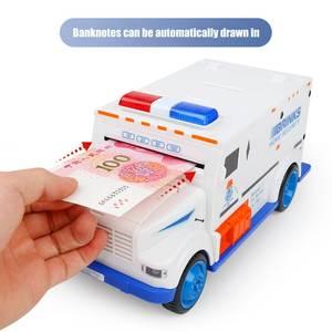 Banknote-Bank Coin-Saver Deposit Cash-Truck Piggy-Bank Password-Money-Box Safe Electronic