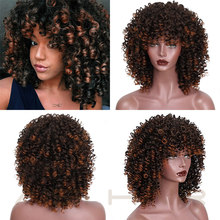 Synthetic Curly Wig Hair for Women