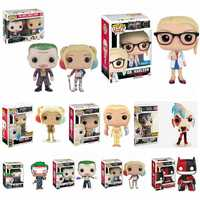 Funko POP-figuras de escuadrón suicida, Superhéroes, Joker, Harley Quinn, 135 #108 #, modelos de colección, juguetes para niños, muñecos