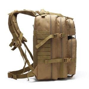 Image 5 - Военный рюкзак на шнурке 25L/35L/40L/45L, 800D, водонепроницаемый, Оксфорд, для рыбалки, охоты, кемпинга, скалолазания
