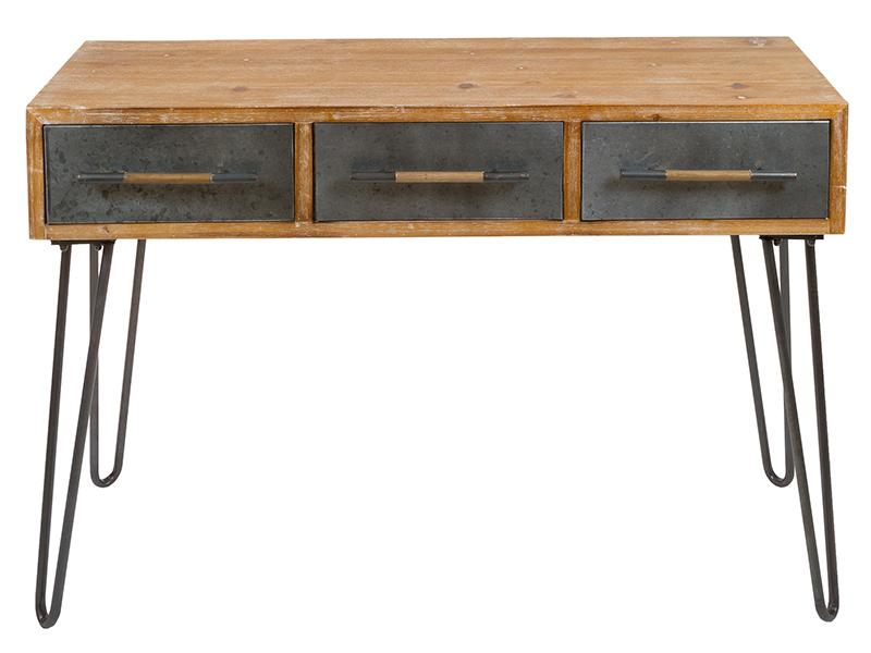 Desk Industrial (120 X 42 X 80 Cm)