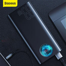 Baseus 30000mAh Power Bank Fast Charging PD3.0 QC 3.0 Quick Charge SUB Travel Portable Exte