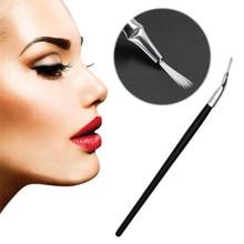 Soft Eye Liner Eyeliner Elbowed Brush Professional Makeup Cosmetic Eye Brush Eyeshadow Eye Brow Tool Lip Eyeliner Brushes Women цена в Москве и Питере
