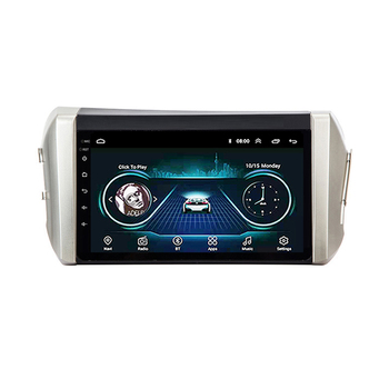 Toyota INNOVA 2015 2016 2017 2018 2 din Adroid 8.1 Car Radio Stereo WIFI GPS Navigation Multimedia Player head unit For image