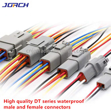 1 Pcs Deutsch DT connector with 20cm Wiring harness DT06-2S/DT04-2P 2P 3P 4P 6P 8P 12P waterproof electrical connector
