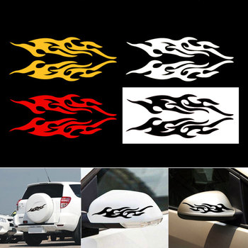 Fire Flame Car stickers 2