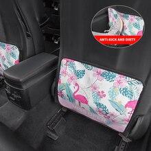 Мультяшная защита задней крышки автомобильного сиденья для детей детский коврик от грязи уборка грязи чехол для автомобильного сиденья автомобильный коврик