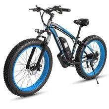 Электрический велосипед SAMSUNG, 1000 Вт, литиевая батарея Ач, колеса 26 дюймов, электровелосипед с толстыми шинами для взрослых, электровелосипед...
