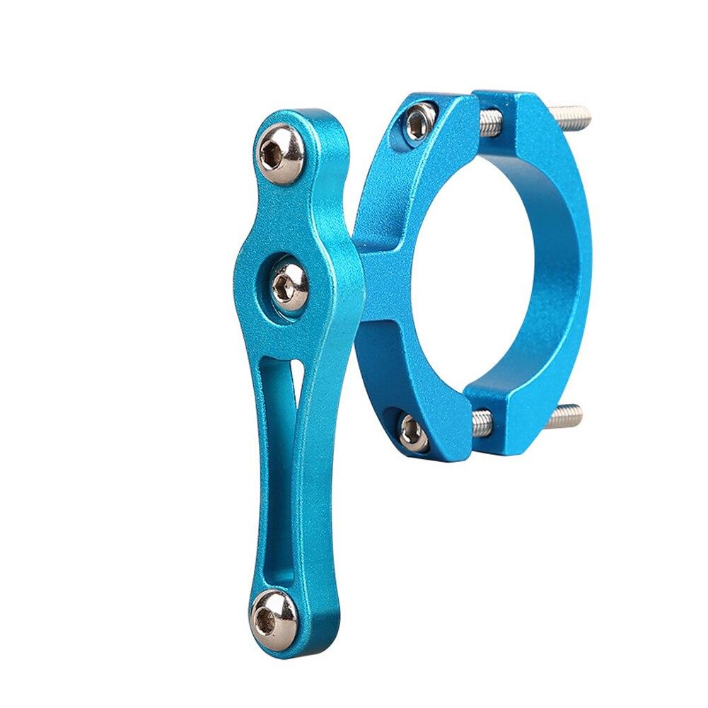 Практичный с прокладкой из алюминиевого сплава легко установить аксессуары замена вращающийся велосипедный держатель клетка держатель бутылки адаптер - Цвет: Синий