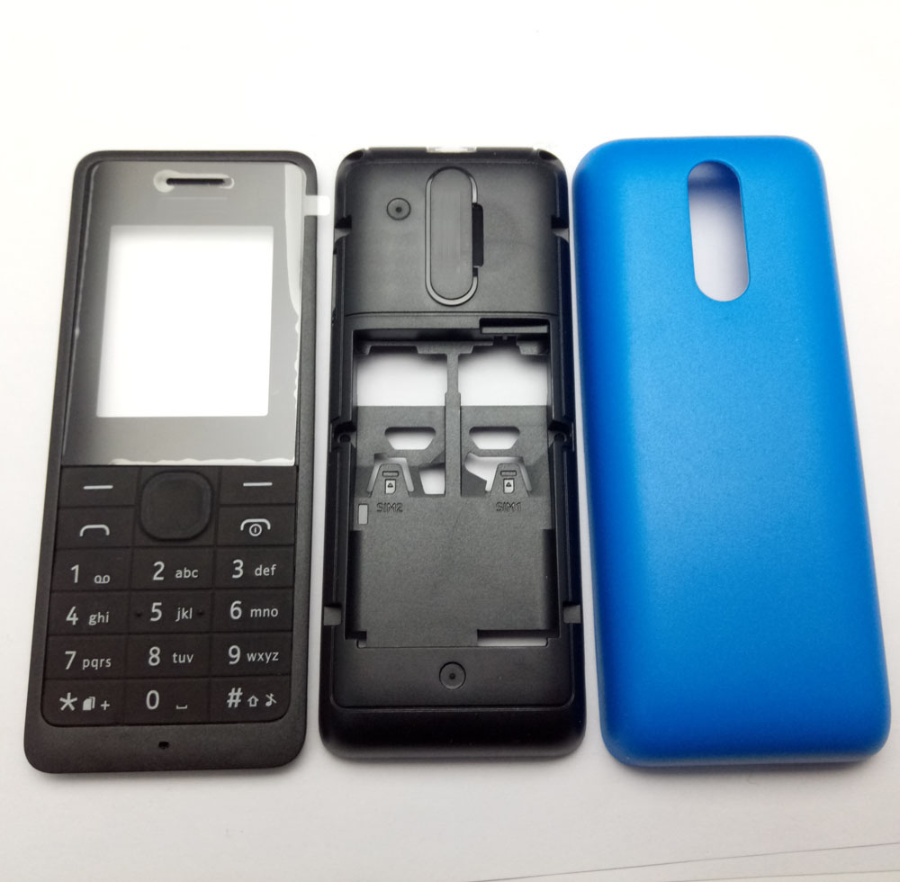 Case Nokia Housing-Cover Phone Front--Middle--Back-Cover New with English Or/russian-Keypad