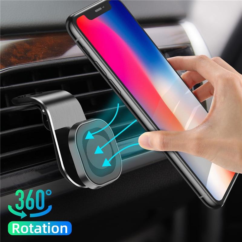 מחזיק טלפון מגנטי לרכב 360 2