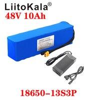LiitoKala e-bike battery 48v 10ah 6ah li ion battery pack bike conversion kit bafang 1000w and charger XT60 T Plug