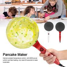 Сковорода для омлета Электрическая круглая антипригарная блинница, креповая фритюрница для пиццы, инструменты для выпечки 220 В, блинчики