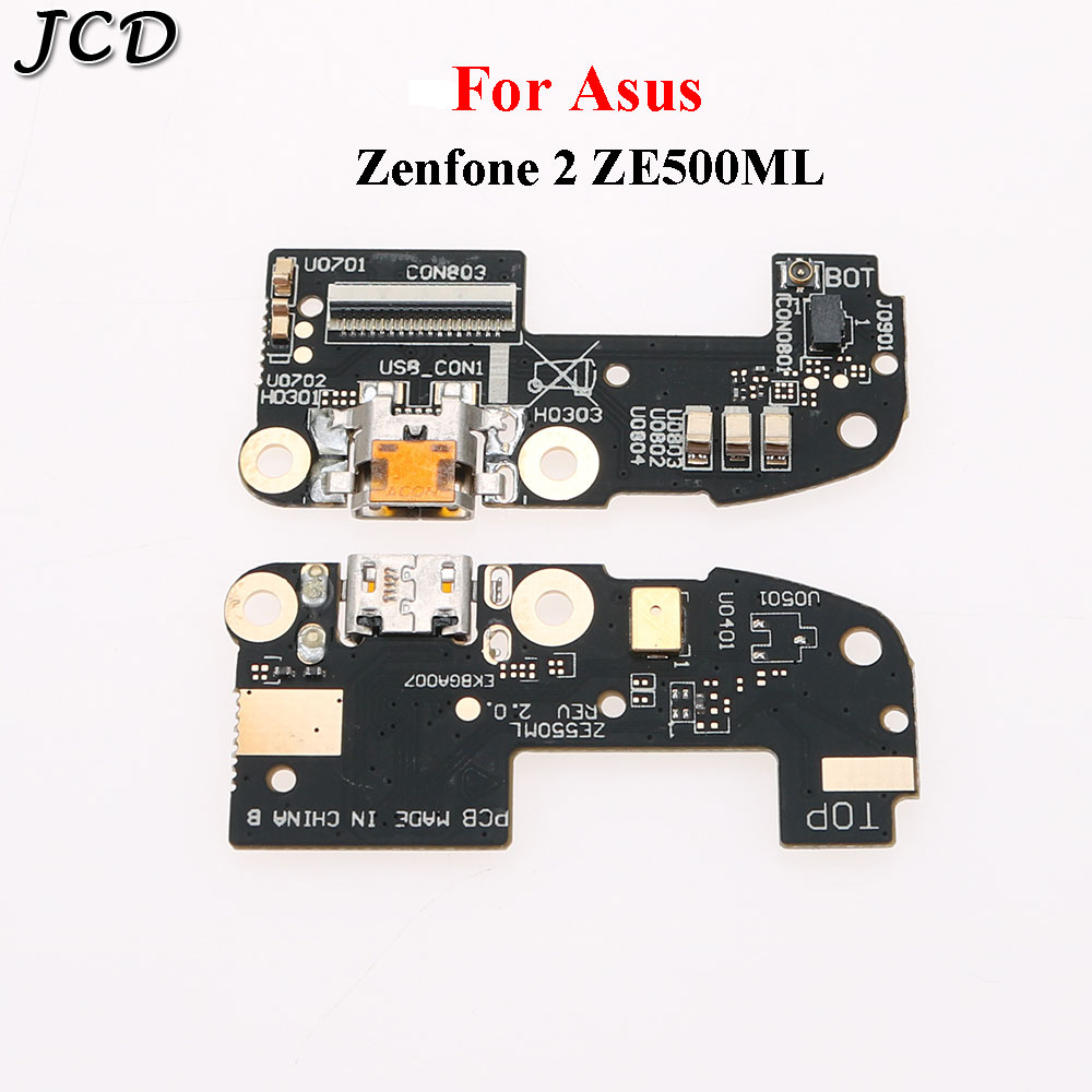 JCD Charging Port Dock Connector Flex Cable For Asus Zenfone 2 ZE550ML ZE551ML Z00AD Z00ADA Dock Connector Charger USB Board