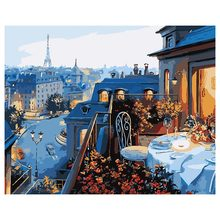 Paint by numbers for adults and kids diy oil painting gift kits