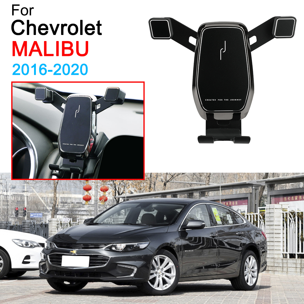 Car Mobile Phone Bracket Air Vent Mount Call Phone Holder For Chevrolet Malibu XL Accessories 2016 2017 2018 2019 2020