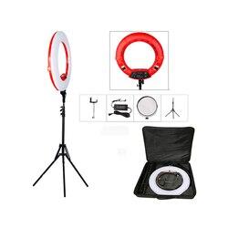Original Yidoblo FS-480II 5500K 48W Dimmable Camera Pro 2 color adjustable 18 LED Ring Light LED Lamp+ 200cm tripod +Bag Kit