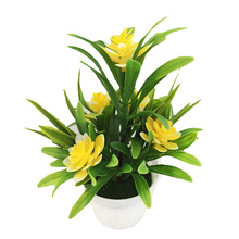 New Arrival Flowers Plant Pot Outdoor Home Office Decoration Gift Realistic Artificial Lotus Leaves Fake wedding decor