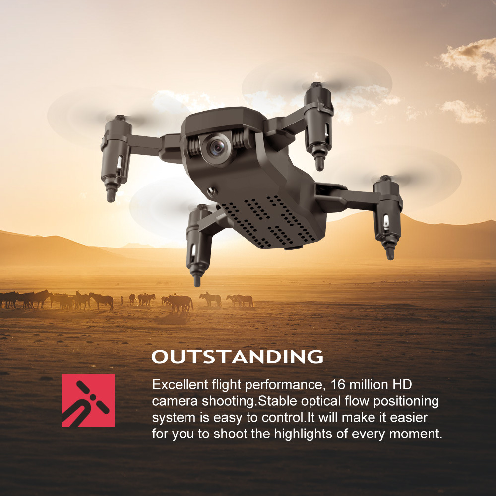 LF606 Foldable Mini Drone with 4K HD camera with One-Click Return Function 16