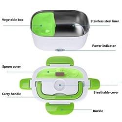 12V 24V przenośne elektryczne podgrzewane pudełko na lunch pudełka Bento Auto Car Food pojemnik na ryż cieplej do szkolnego biura obiadowego w Urz. do gotowania ryżu od AGD na
