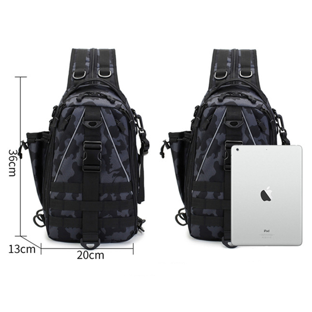 Sports Men Tactical Hiking Backpack Chest Bag Military Fishing Shoulder Sling Climbing Camping Mochila Militar 2019 New XA209D 5