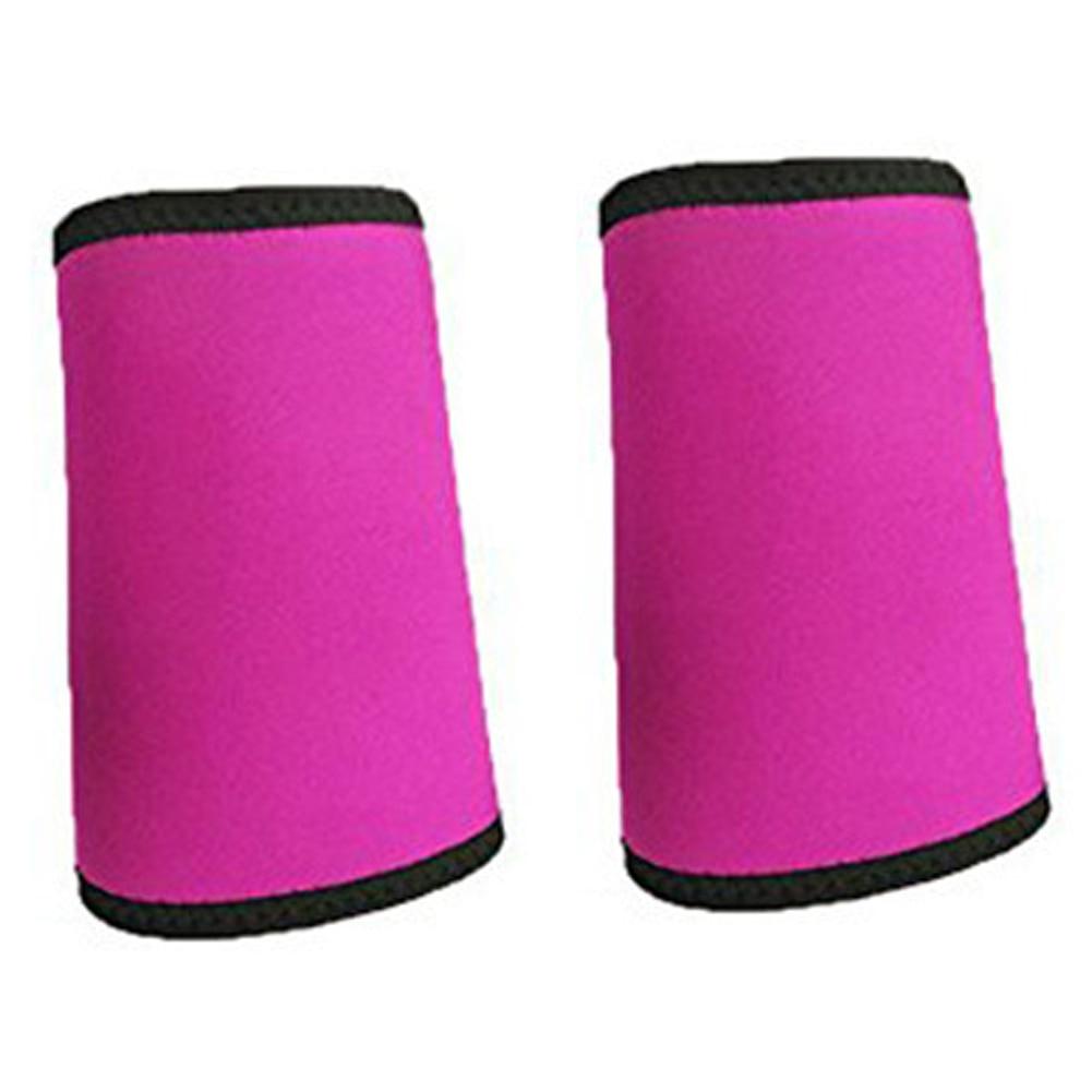 2pcs Neoprene Arm Sleeve Outdoor Gym Slimmer Cover Fat Burner Women Sports Sweat Body Shaping Fitness Non Slip Trimmer