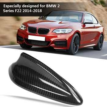 Car Carbon Fiber Antenna Shark Fin Cover Trim for BMW F22 F30 F35 F34 F32 F33 F80 Car Styling Accessories Antenna Cover