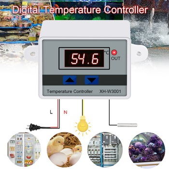 XH-W3001 Digital Temperature Controller Thermostat W3001 110V 220V 12V 24V Thermoregulator Aquarium Incubator Temp Regulator image