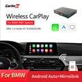 Carlinkit беспроводной Apple Carplay/ Android Авто/Mirrorlink/Голосовое управление/для BMW MiNi/X1/X3/X4/X5/X6 с беспроводной NBT системой