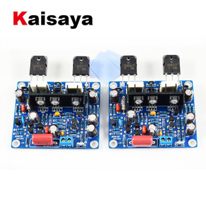 Image 1 - 2pcs HiFi MX50 SE 2.0 dual channel 2x 100W Stereo Power amplifier DIY KIT and finished board