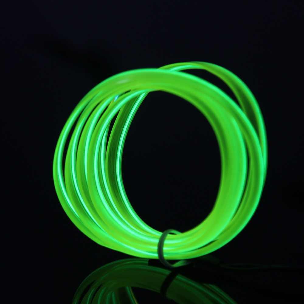 POSSBAY 4M araba motosiklet bisiklet ev partisi geçit dekorasyon Neon LED halat işıklar + çıkış konnektörü invertör denetleyici