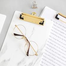 A4 A5 держатель для бумаги для Конференции с подвесным отверстием, блокнот для письма, папка для обмена, файл, документ, металлический зажим для школы, офиса
