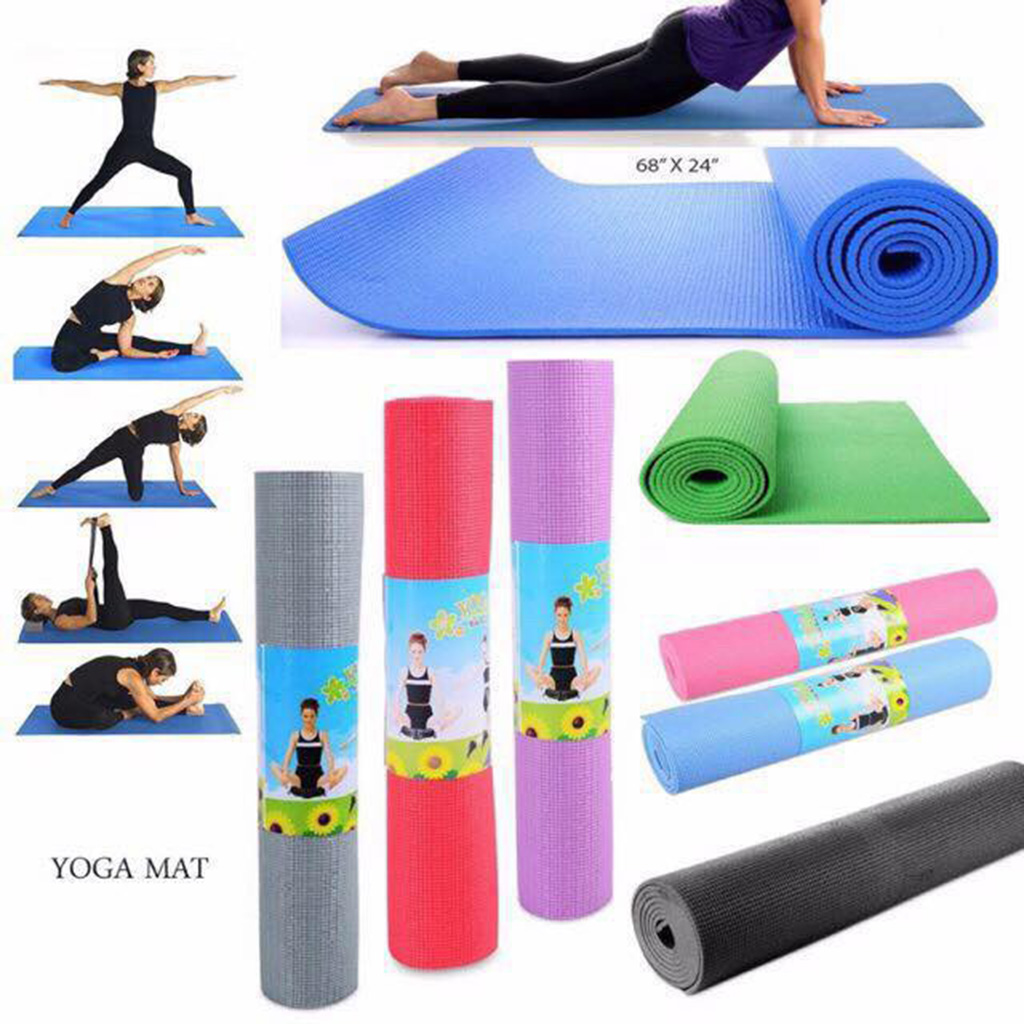 Non-Slip EVA Yoga Pilates Mat Moisture Resistant Fitness Gym Cushion Pad Waterproof Sport Mat Exercise Moisture-proof Pads