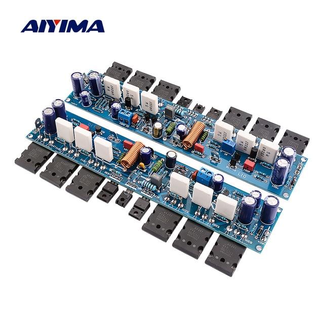 Aiyima 2 Chiếc L10 Bộ Khuếch Đại Công Suất Tàu 300W Hifi 2.0 Kênh Lớp AB Bộ Phận Khuếch Đại Âm Thanh Amp Bóng Bán Dẫn A1930 C5171 TT1943 TT5200