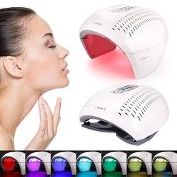 Novo 7 cor pdt máquina de remoção acne rosto terapia luz led rejuvenescimento da pele acne removedor anti rugas dispositivo salão beleza