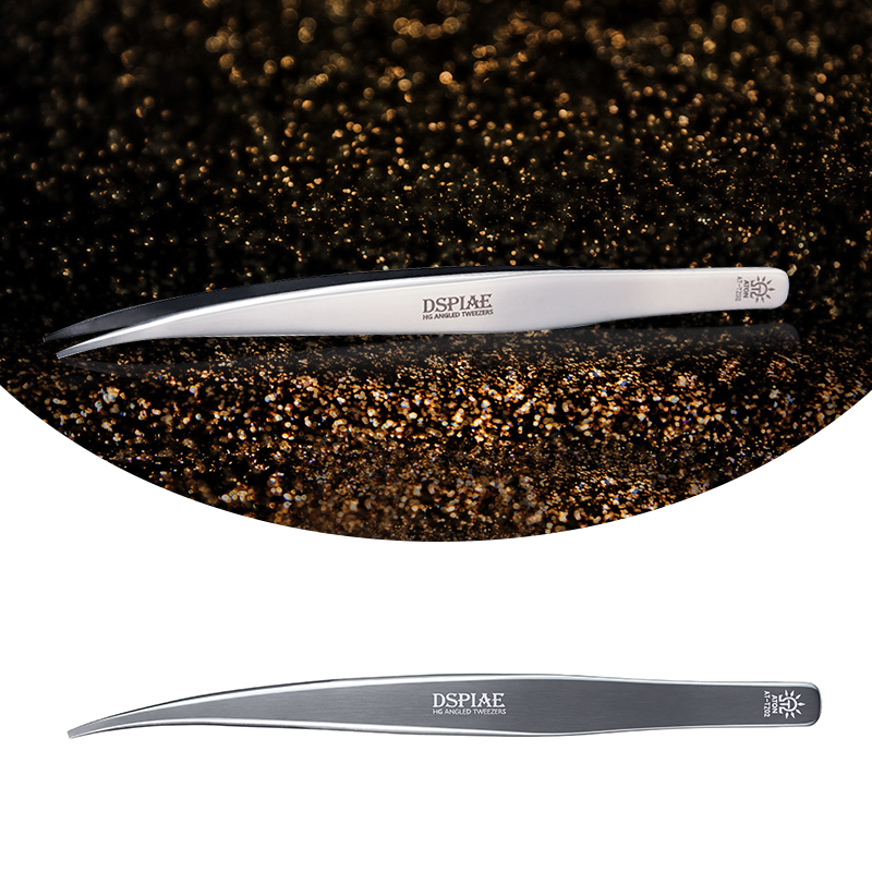 DSPIAE AT-Z01 Thin-Tipped Tweezer HG Angled Tweezers