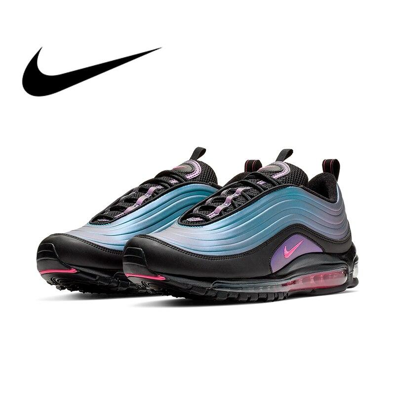 Original authentique Nike Air Max 97 LX chaussures de course pour hommes Sport baskets de plein Air chaussures Designer 2019 nouveauté AV1165-001
