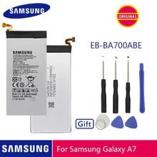 SAMSUNG Original Phone Battery EB-BA700ABE 2600mAh For Samsung Galaxy A7 2015 SM-A700F SM-A700FD SM-A700S SM-A700L SM-A700